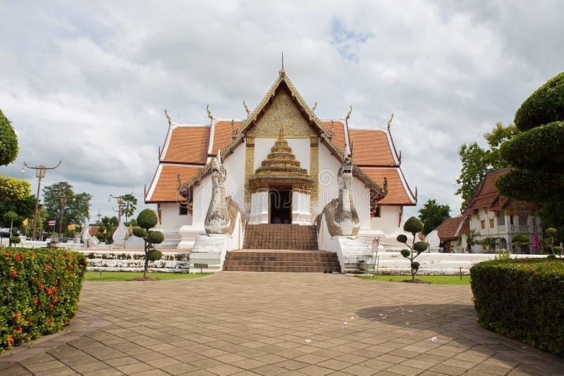 NAN, THAÏLANDE 29 juillet : Wat Phumin Places de culte et de temple image libre de droits