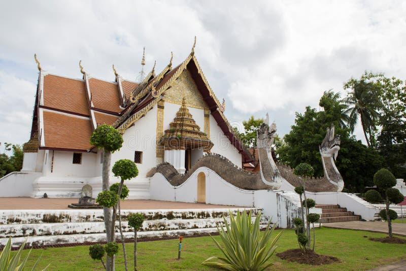 NAN, THAÏLANDE 29 juillet : Wat Phumin Places de culte et de temple photographie stock libre de droits