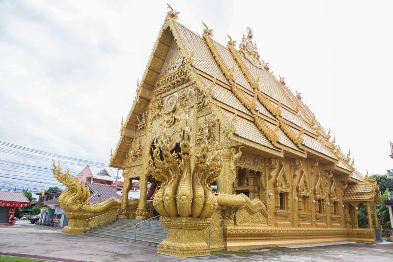NAN, THAÏLANDE 29 juillet : Wat Sri Panton Places de culte et de tem photographie stock
