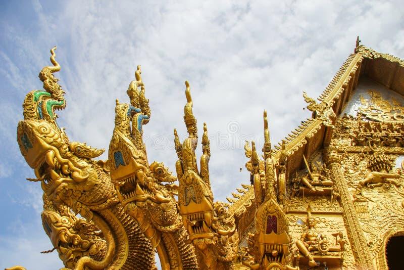 WAT SI PANTON TEMPLE NAN THAILAND. NAN,THAILAND - JULY 19,2016 : WAT SI PANTON TEMPLE royalty free stock images