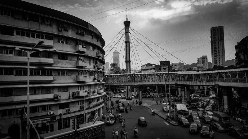 Nana Chowk Mumbai arkivbilder