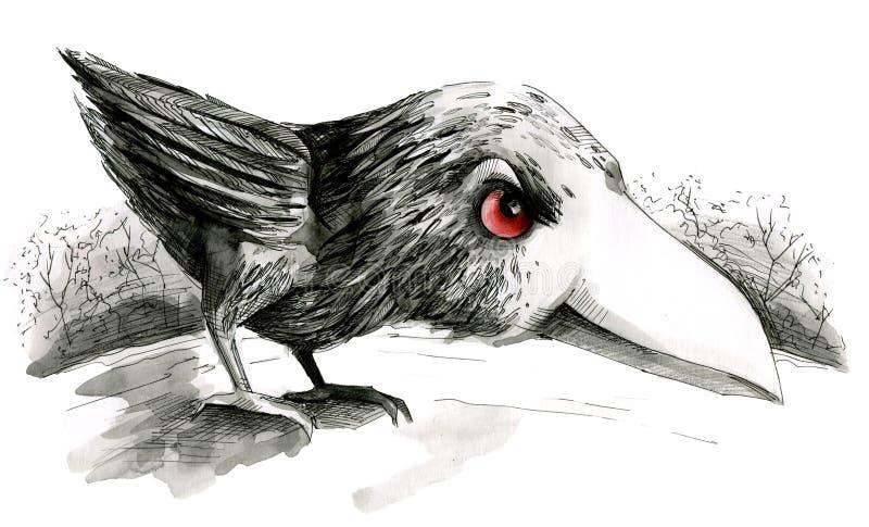Nana de Raven illustration stock