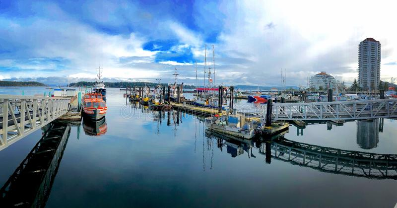 Nanaimo Harbour royalty free stock photography