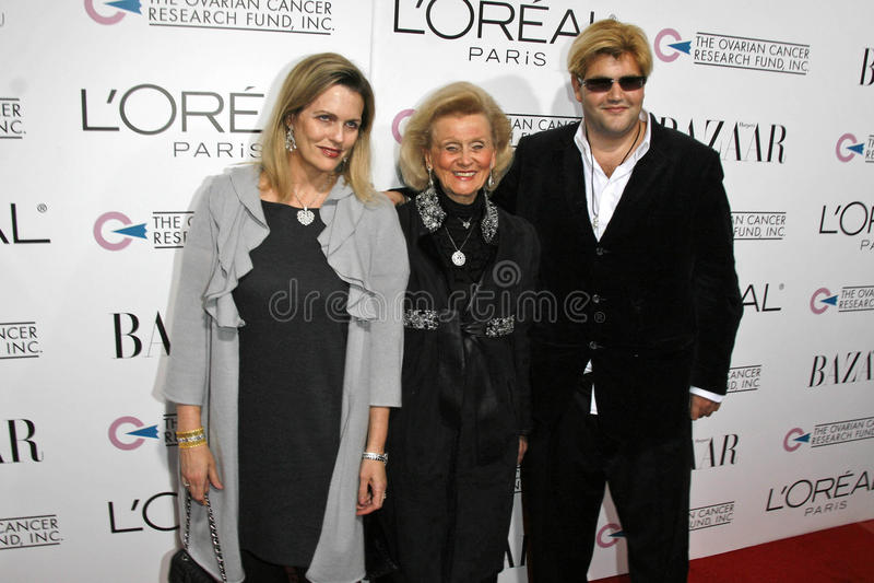 Nancy Davis, Barbara Davis, Jason Davis royalty-vrije stock fotografie