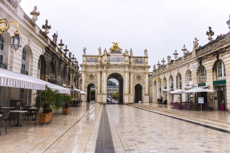 Nancy, France royalty free stock photos