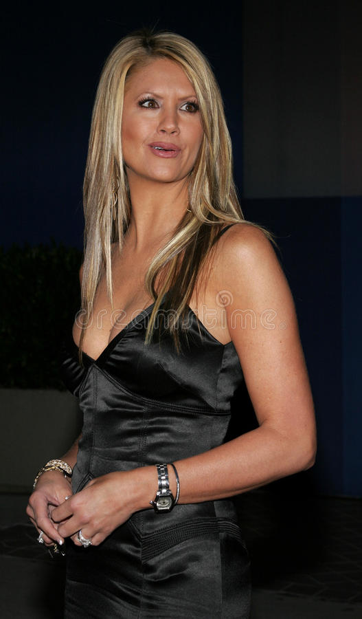 Nancy O'Dell. April 25, 2006. Nancy O'Dell attends the Amberwatch Foundation Launch Party held at the Globe Theatre in Universal City, California United States stock photo