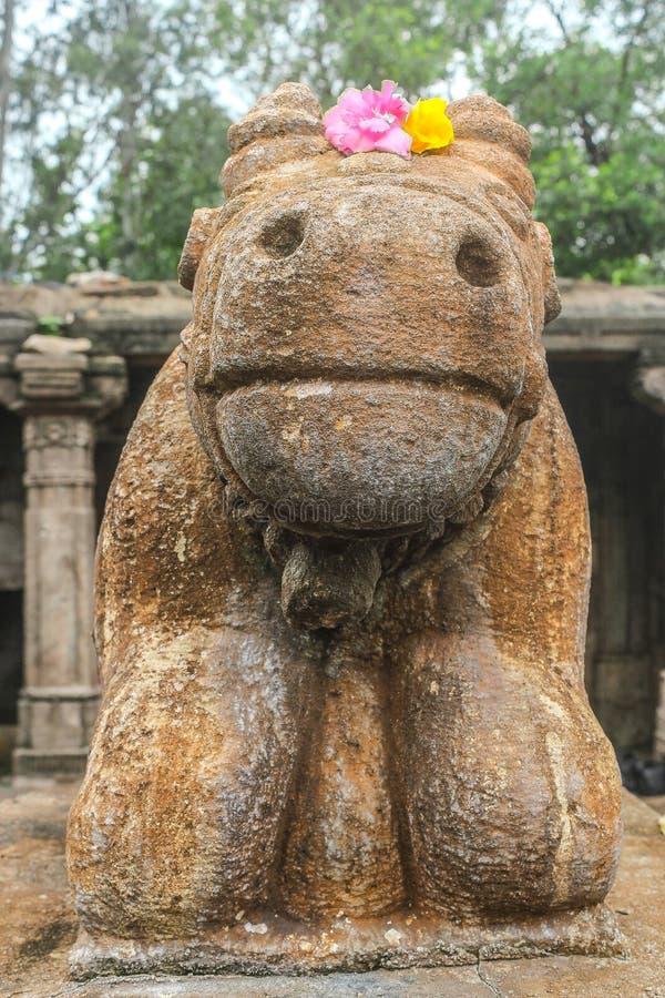 Nandi el bebé Bull de Lord Shankar imagenes de archivo