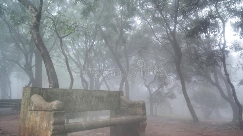 Nandi wzgórza, Karnataka, India zdjęcie stock
