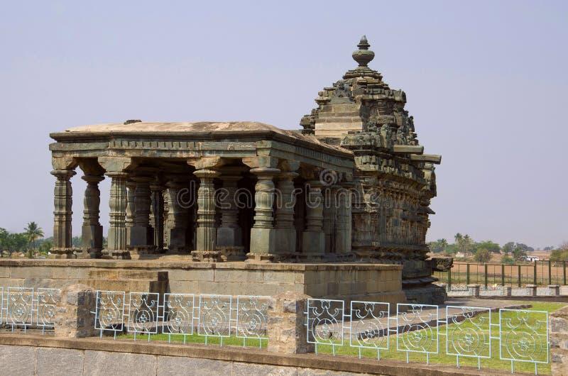 Nanesvara świątynia, Lakkundi, Karnataka, India zdjęcie royalty free