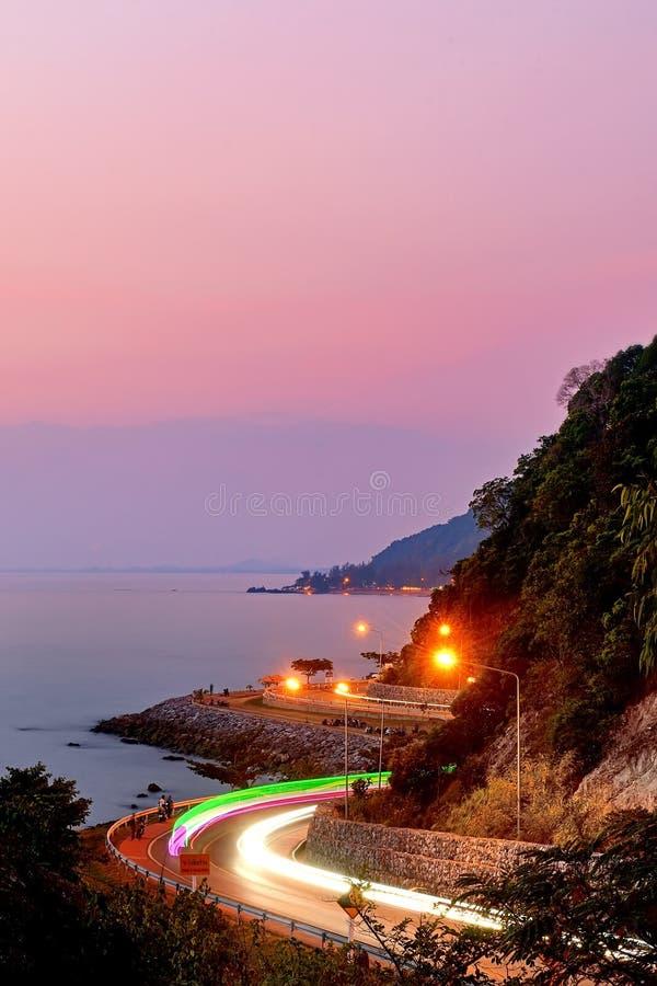 Nang Phaya Hill Scenic Point. Chanthaburi Thailand royalty free stock image