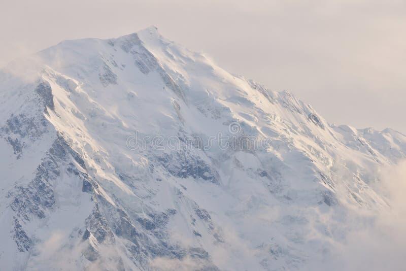 Nanga Parbat jest 9th wysokim górą w świacie fotografia stock