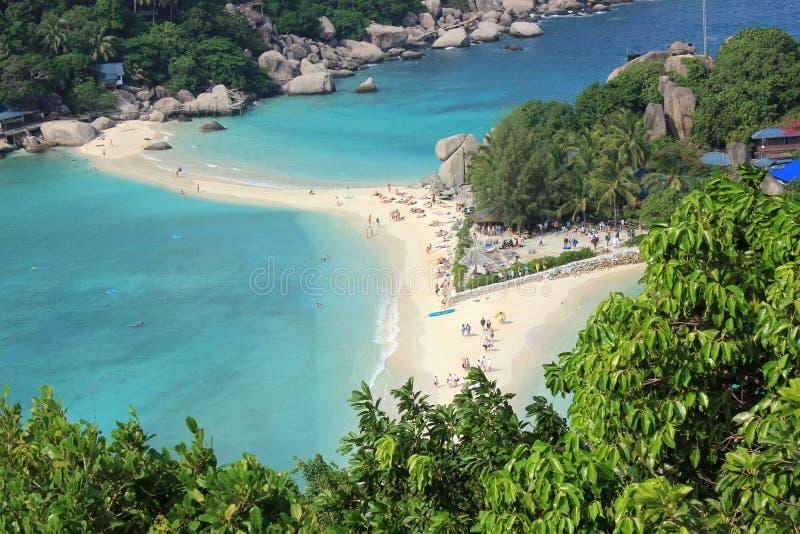 Download Nangyuan ö, Thailand fotografering för bildbyråer. Bild av sväller - 37346593