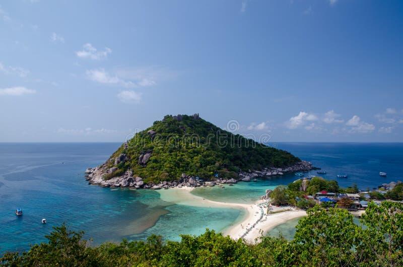 Nangyuan wyspa Thailand obraz royalty free
