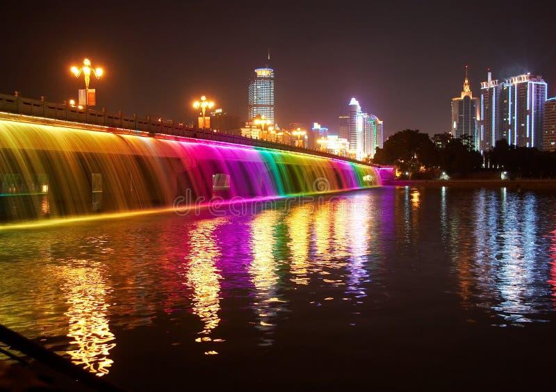 Nanhu Brücke lizenzfreie stockbilder