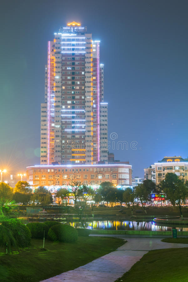 Nanjiang budynek zdjęcia royalty free