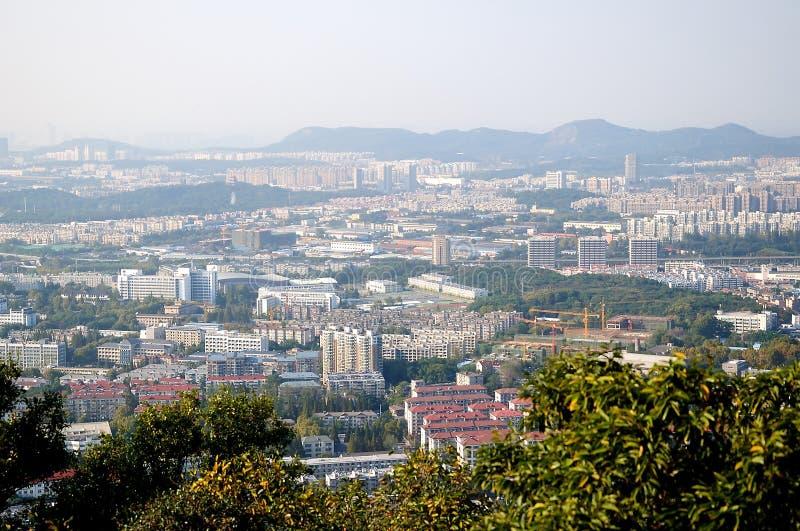 Nanjing city stock photos