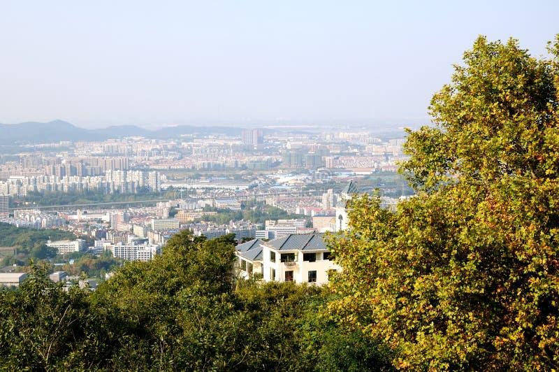 Nanjing city royalty free stock photos