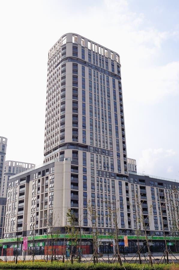 Nanjing green Olympic Village royalty free stock photos