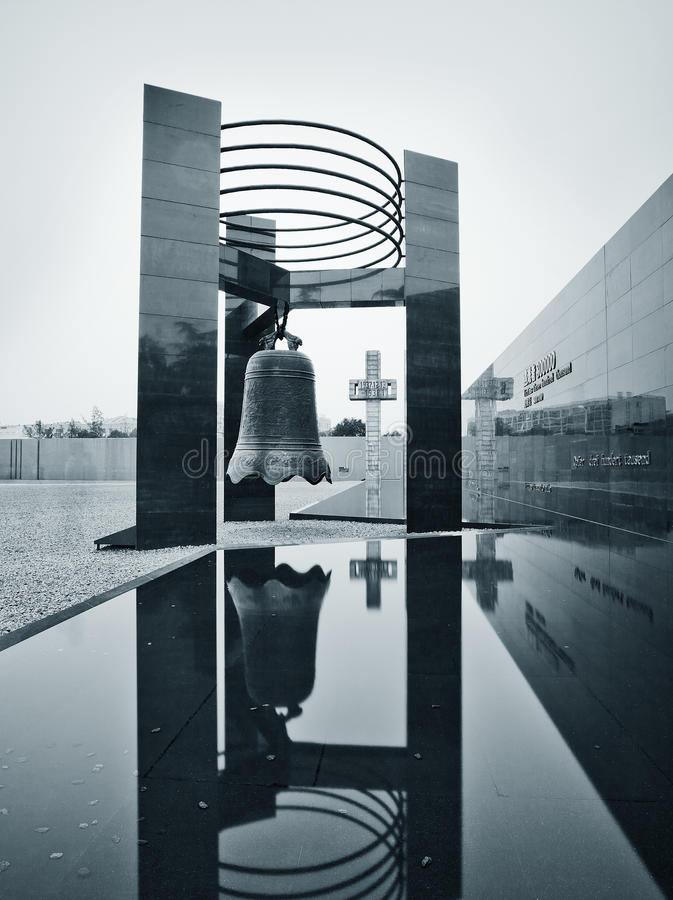 Nanjing-Massakerdenkmal lizenzfreie stockfotos