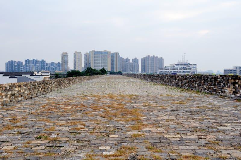 Nanjing Ming City Wall image libre de droits