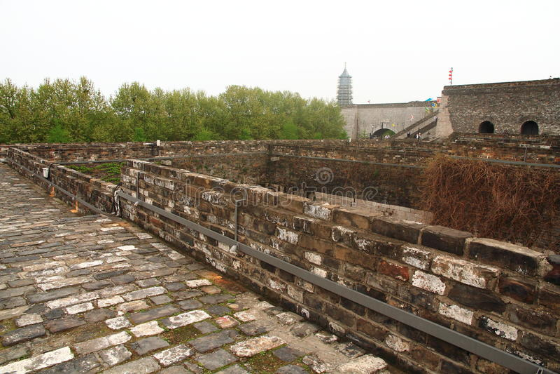 Nanjing Ming City Wall photographie stock libre de droits