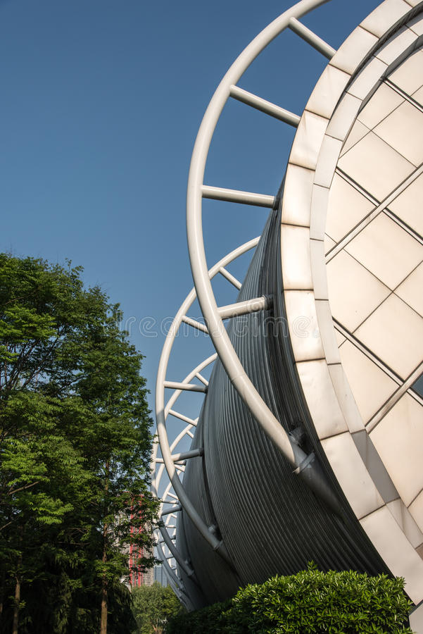 Nanjing Olympic Sports Center stock photography
