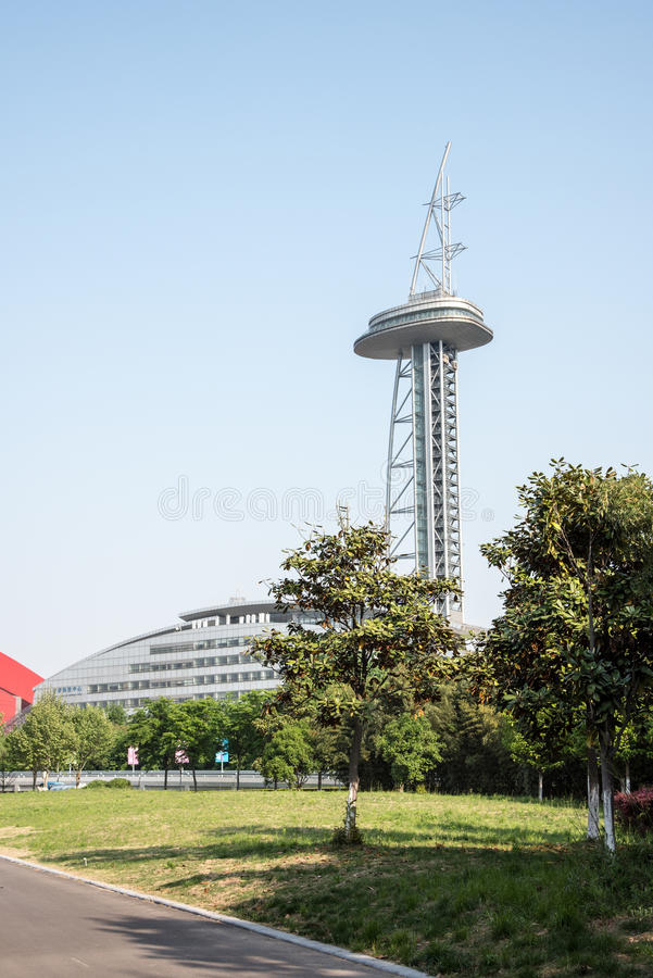 Nanjing Olympic Sports Center stock images