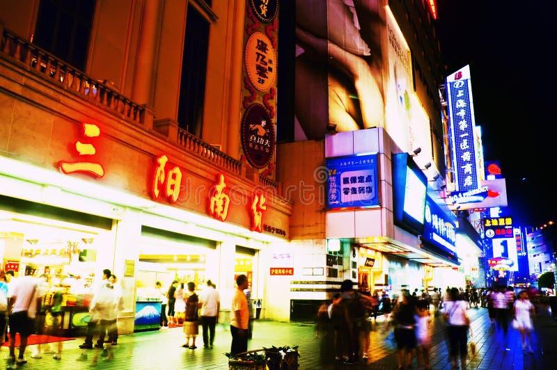 Download Nanjing Road, Shanghai editorial stock image. Image of store - 10867509