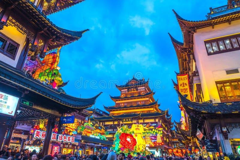 Nanjing Road, Shanghai, China stock fotografie