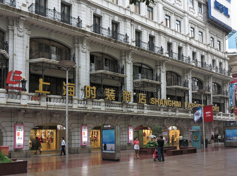Download Nanjing Road,Shanghai Commercial Street Editorial Photo - Image: 25582866