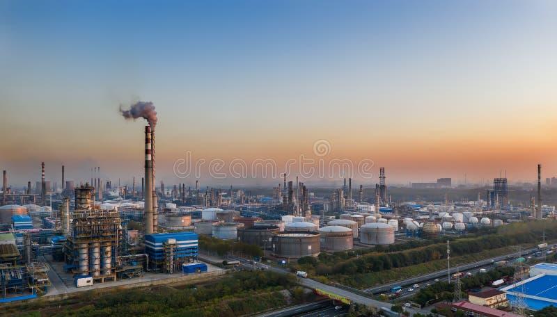 Nanjing Yangzi Petroquímico Empresa fotografia de stock