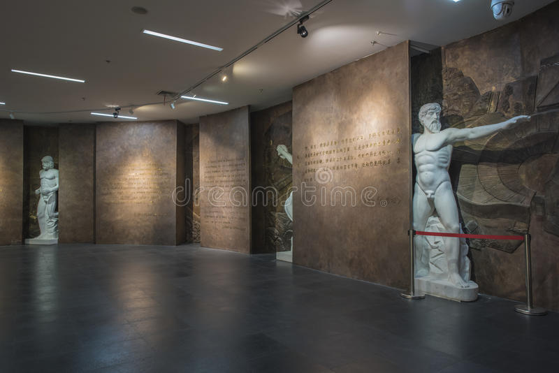 Nanjing Youth Olympic Museum royalty free stock photography