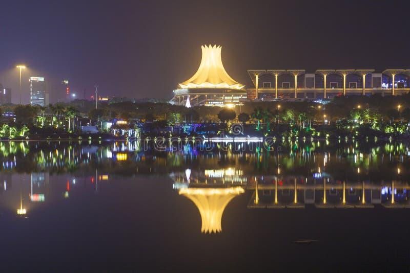 Nanning, China-Nov 9, 2016: EXPO LA CHINA-ANSA del capital de t foto de archivo