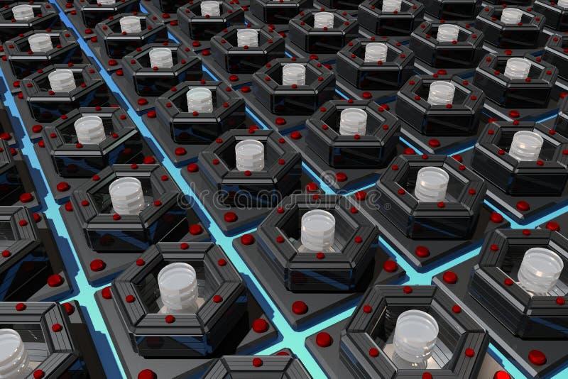 Nano - симметрия иллюстрация штока