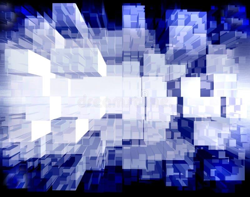 nano иллюстрация вектора