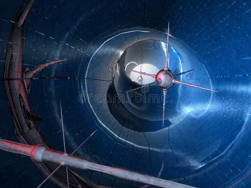 Download Nano Technologieserie #1 stock abbildung. Illustration von strahl - 29190