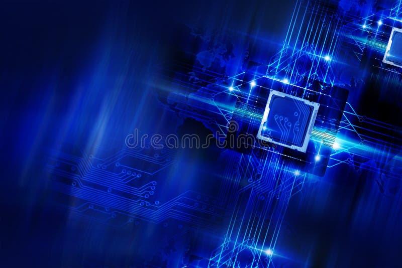 Nano Technology royalty free stock photos