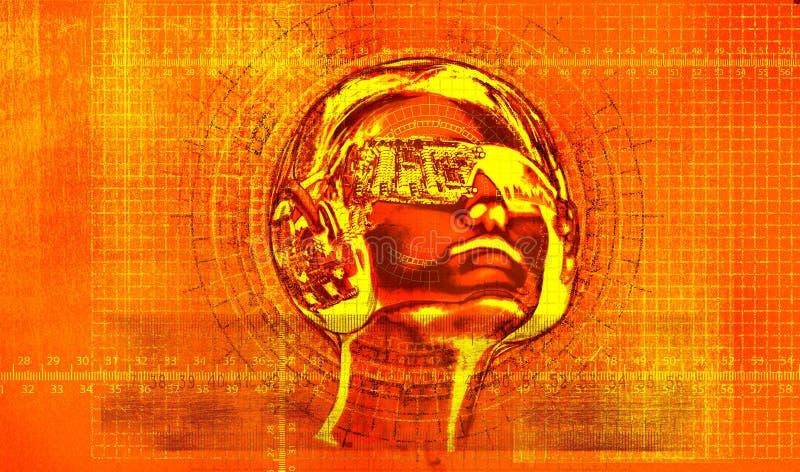 Download NanoCat stock illustration. Image of work, computer, girl - 5029401