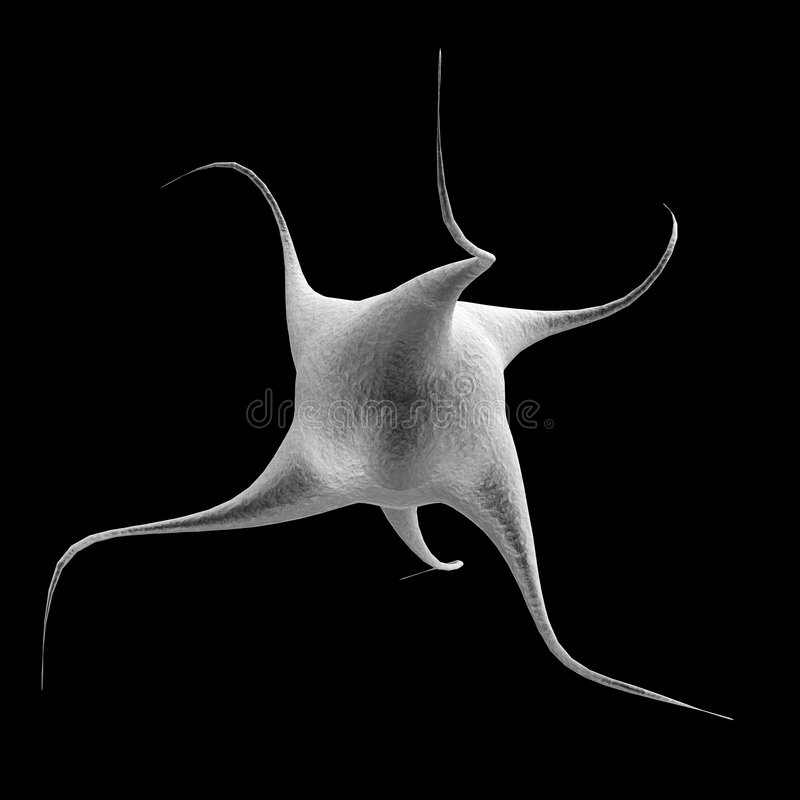 nanocell 库存例证