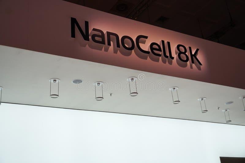 NanoCell 8K fotografia stock libera da diritti