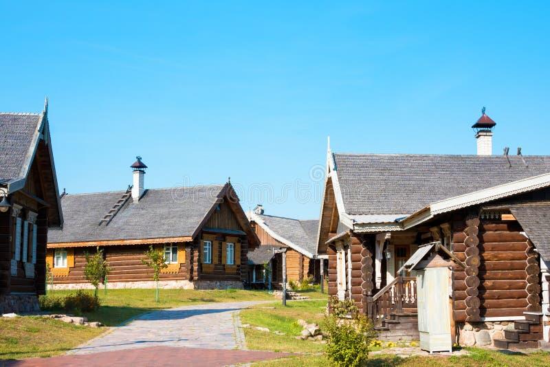 Nanosy-Novoselye complesso etnoculturale È complesso storico della ricreazione, che gli rende la posizione immagine stock libera da diritti