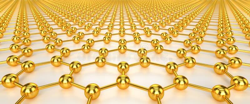 Nanotechnologia ilustracja wektor