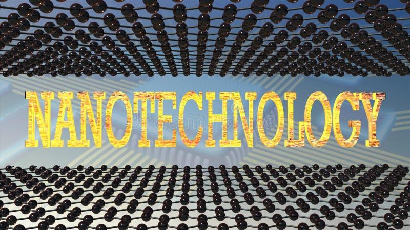 nanotechnologia royalty ilustracja