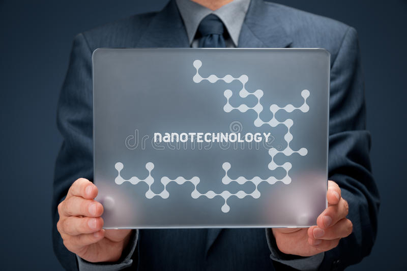 nanotechnology images stock