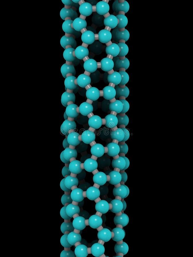 Nanotube vector illustratie