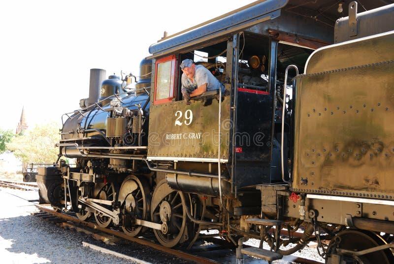 Nanovolt-Eisenbahn lizenzfreie stockbilder