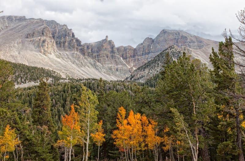Nanovolt-großes Becken-nationale Park-Geschäftemacher-Spitze lizenzfreie stockfotografie