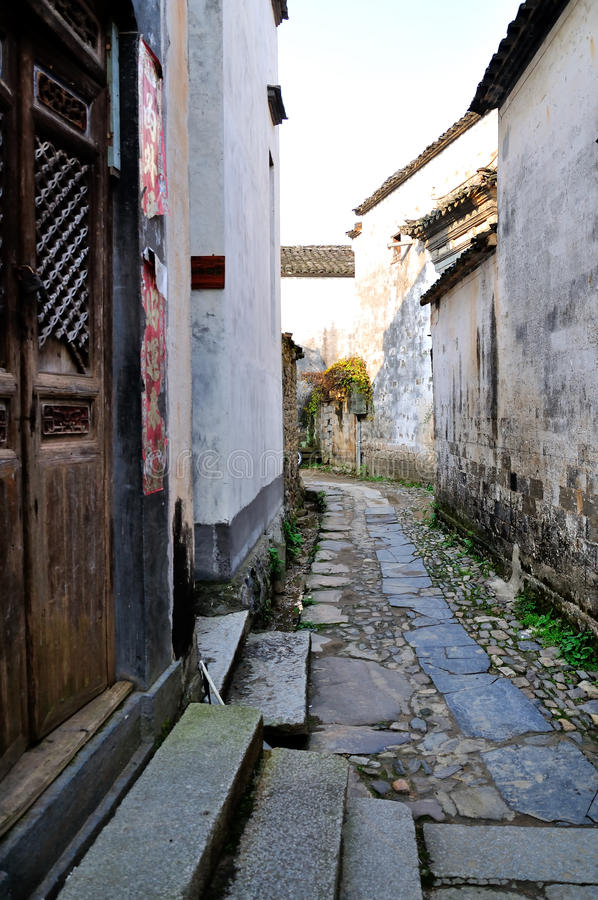 Nanping Village royalty free stock images
