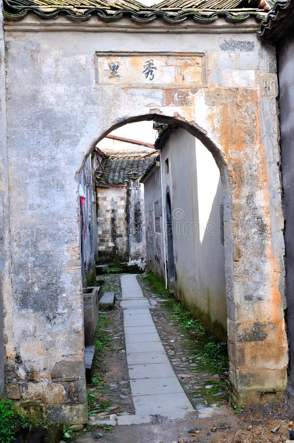 Nanping Village royalty free stock photos