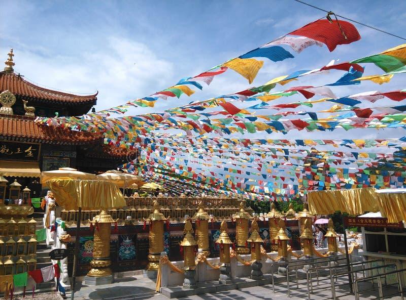 Nanshan świątynia w Sanya, Hainan w Chiny fotografia royalty free